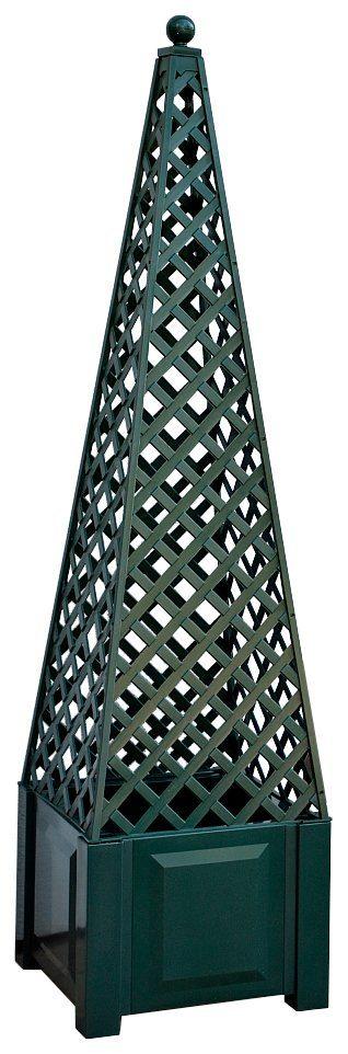 KHW Spalier »Obelisk«, BxH: 43x172 cm, Inkl. Kugel, grün