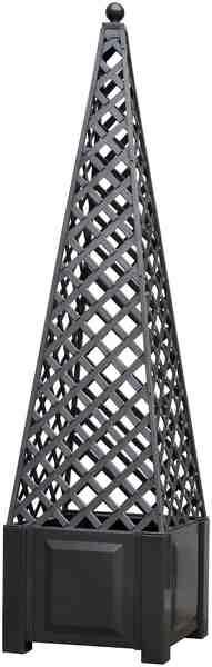KHW Spalier »Obelisk«, BxH: 43x172 cm, Inkl. Kugel, anthrazit
