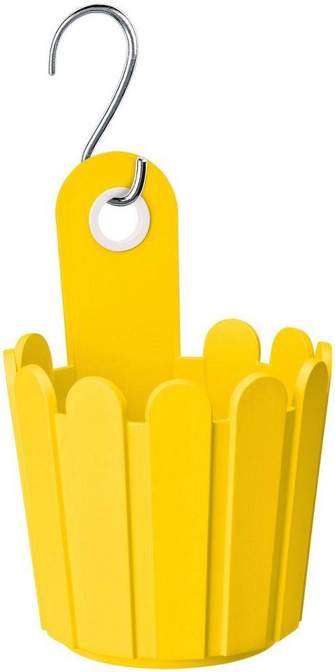 emsa blumenkasten landhaus f sschen 3er set h 15 22 1 cm gelb online kaufen otto. Black Bedroom Furniture Sets. Home Design Ideas