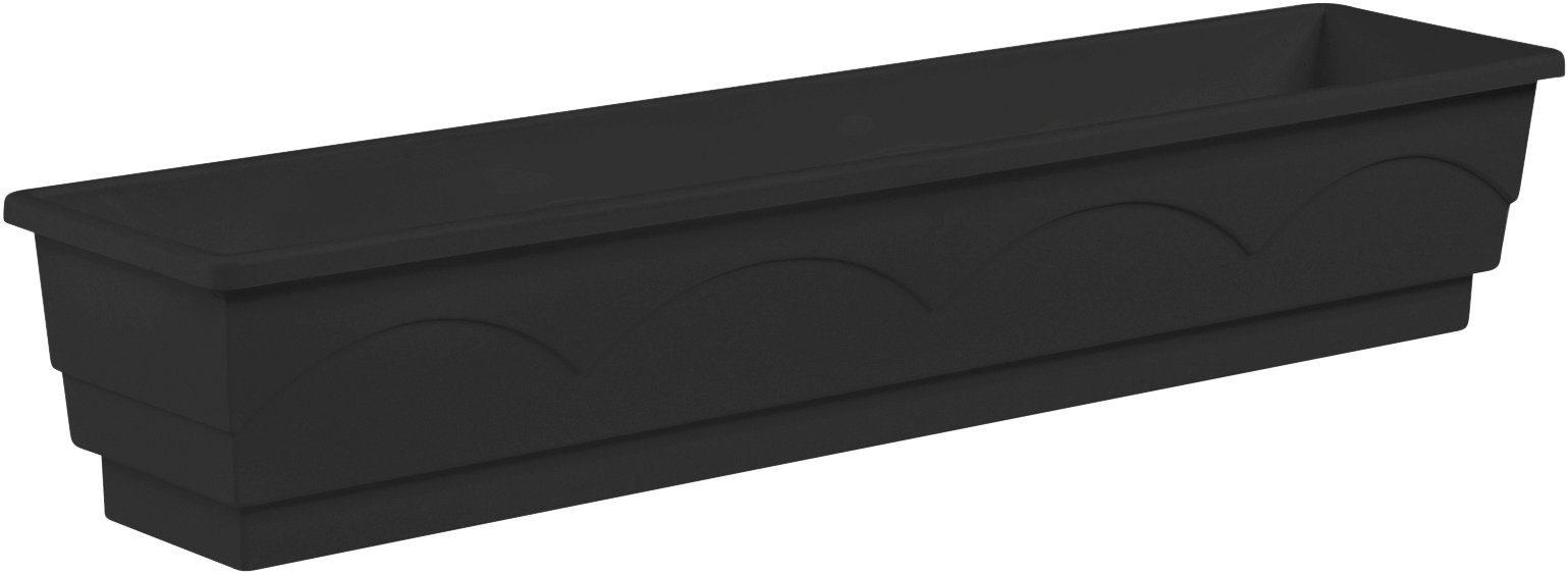 EMSA Blumenkasten »LAGO«, BxTxH: 100x22x18 cm, anthrazit
