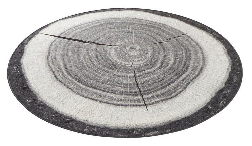 teppich baumstamm hanse home rund h he 6 mm. Black Bedroom Furniture Sets. Home Design Ideas