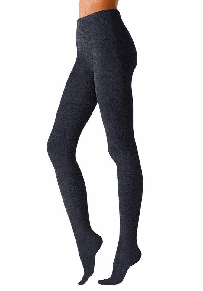 Lavana Strickstrumpfhose Thermosan, formbeständig | Unterwäsche & Reizwäsche > Strumpfhosen > Strickstrumpfhosen | Blau | Lavana
