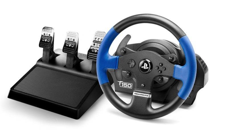 Thrustmaster Lenkrad TM T150 RS PRO Racing Wheel inkl. Pedalset T3PA »(PS4 PS3 PC)«