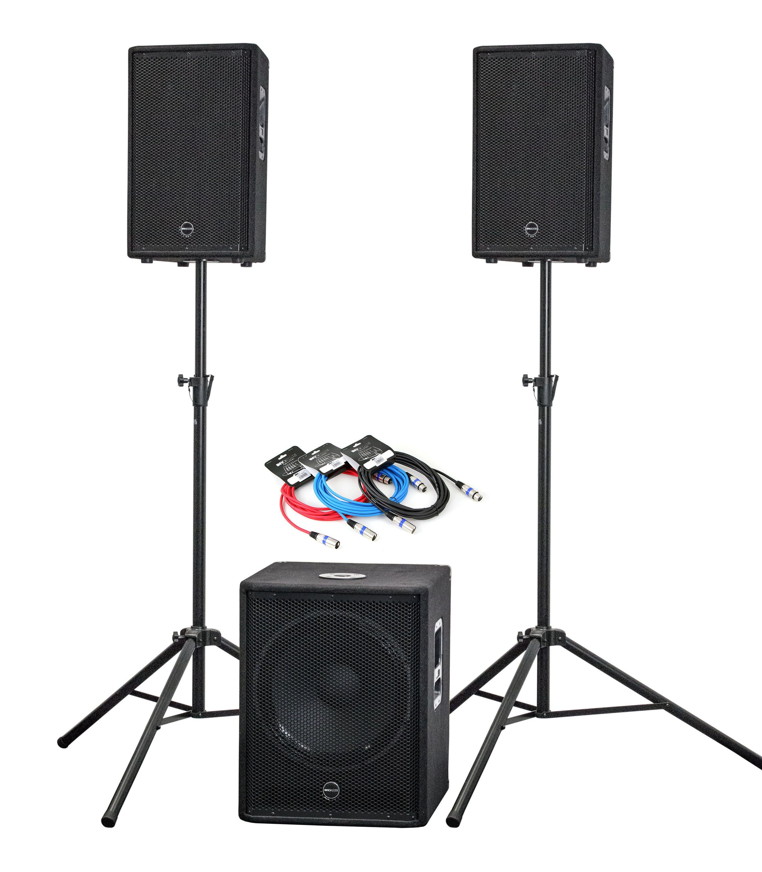 Invotone Aktiv Lautsprecher Set »AS01«