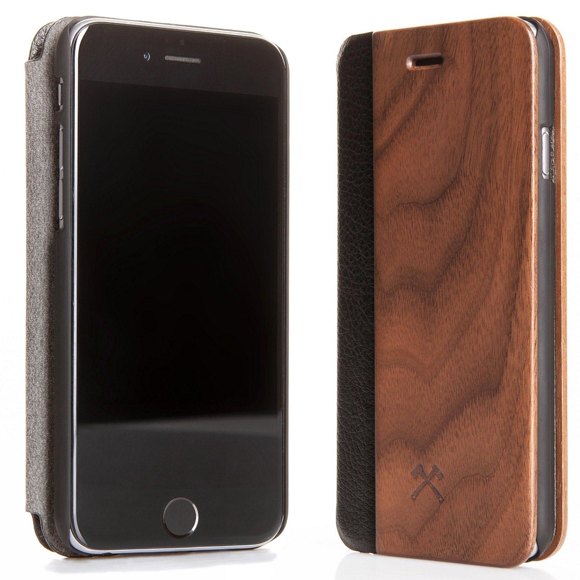 Woodcessories EcoCase iPhone 7 Plus Echtholz Case - Walnuss