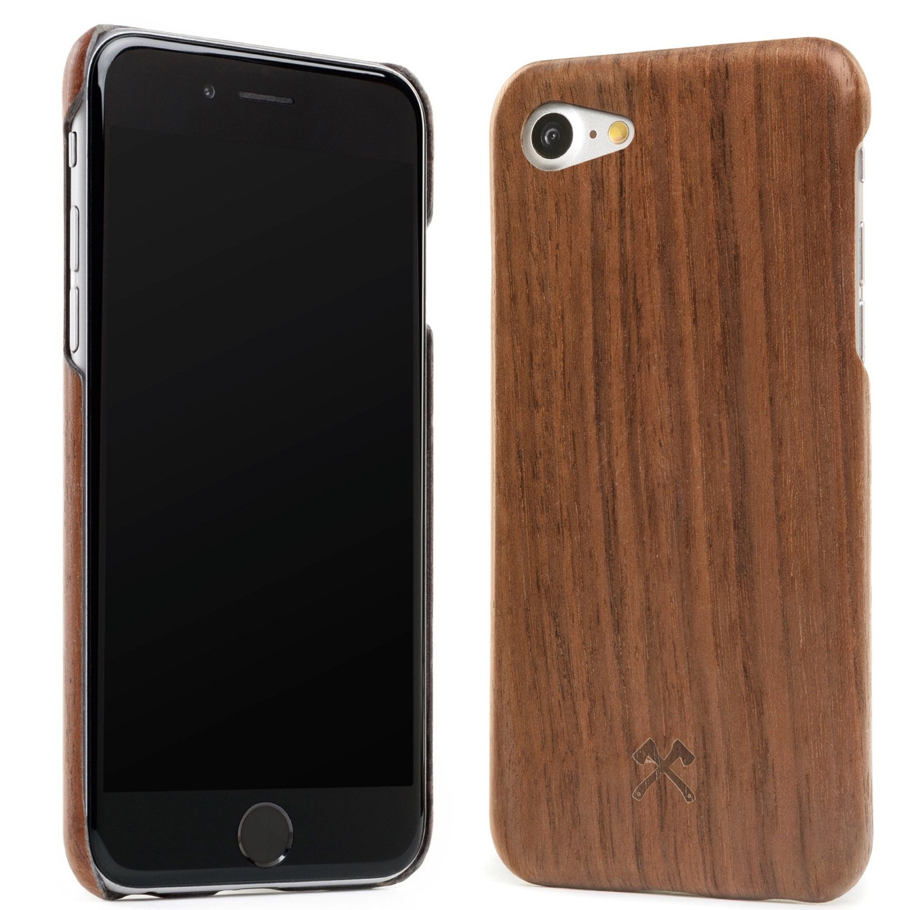 Woodcessories EcoCase - iPhone 7 Echtholz Slim Case - Cevlar Collection