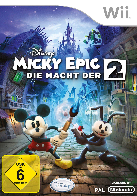 DISNEY Software Pyramide - Nintendo Wii Spiel »Micky Epic: Die Macht der 2«