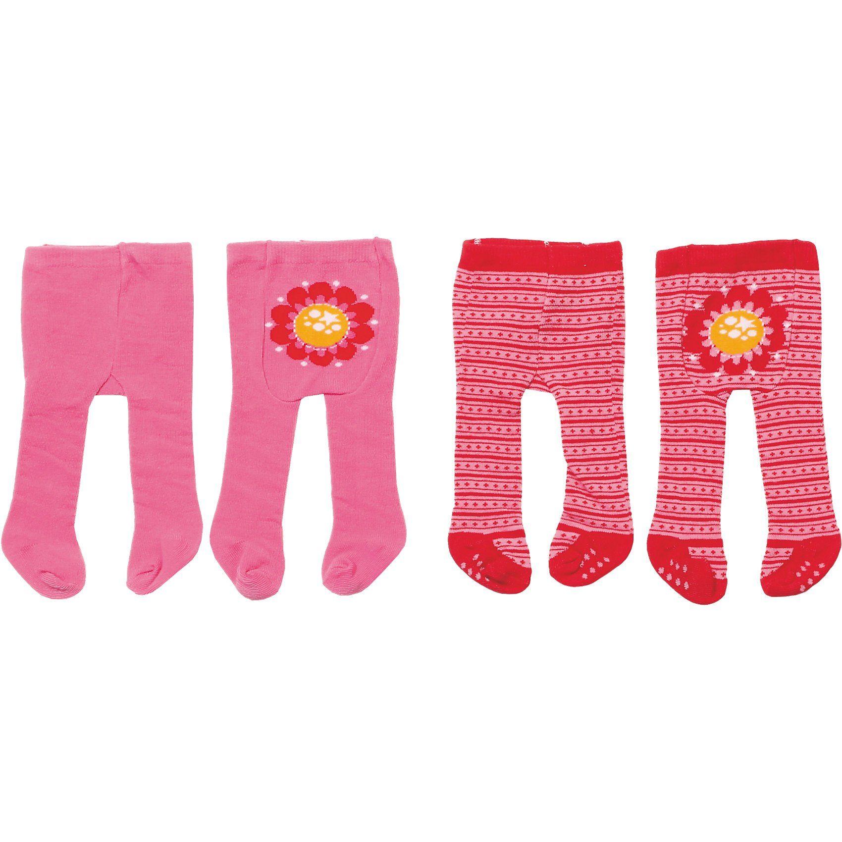 Zapf Creation Dolly Moda Puppenkleidung Strumpfhose pink (2 Stück)