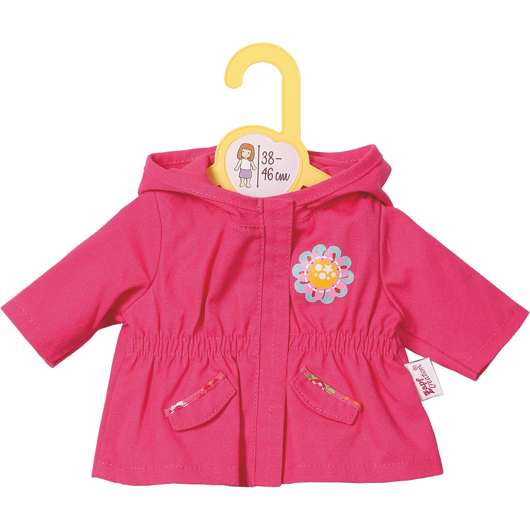 Zapf Creation Dolly Moda Puppenkleidung Jacket, pink 38-46 cm