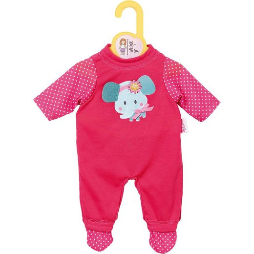 Zapf Creation® Dolly Moda Puppenkleidung Strampler pink, 38-46cm