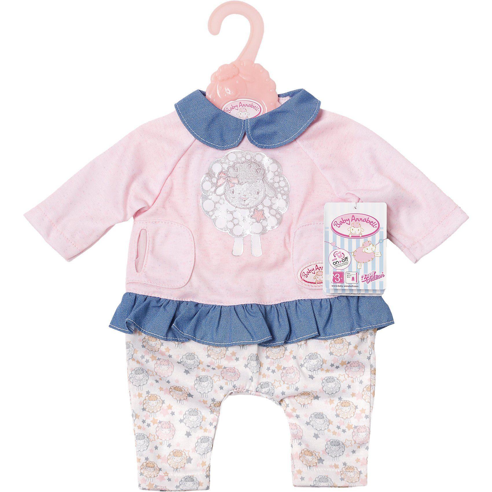 Zapf Creation® Baby Annabell® Puppenkleidung Leggings und Oberteil, 46 cm