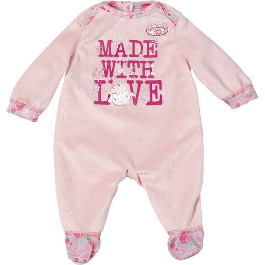 Zapf Creation® Baby Annabell® Puppenkleidung Strampler mit Schriftzug, 46 c