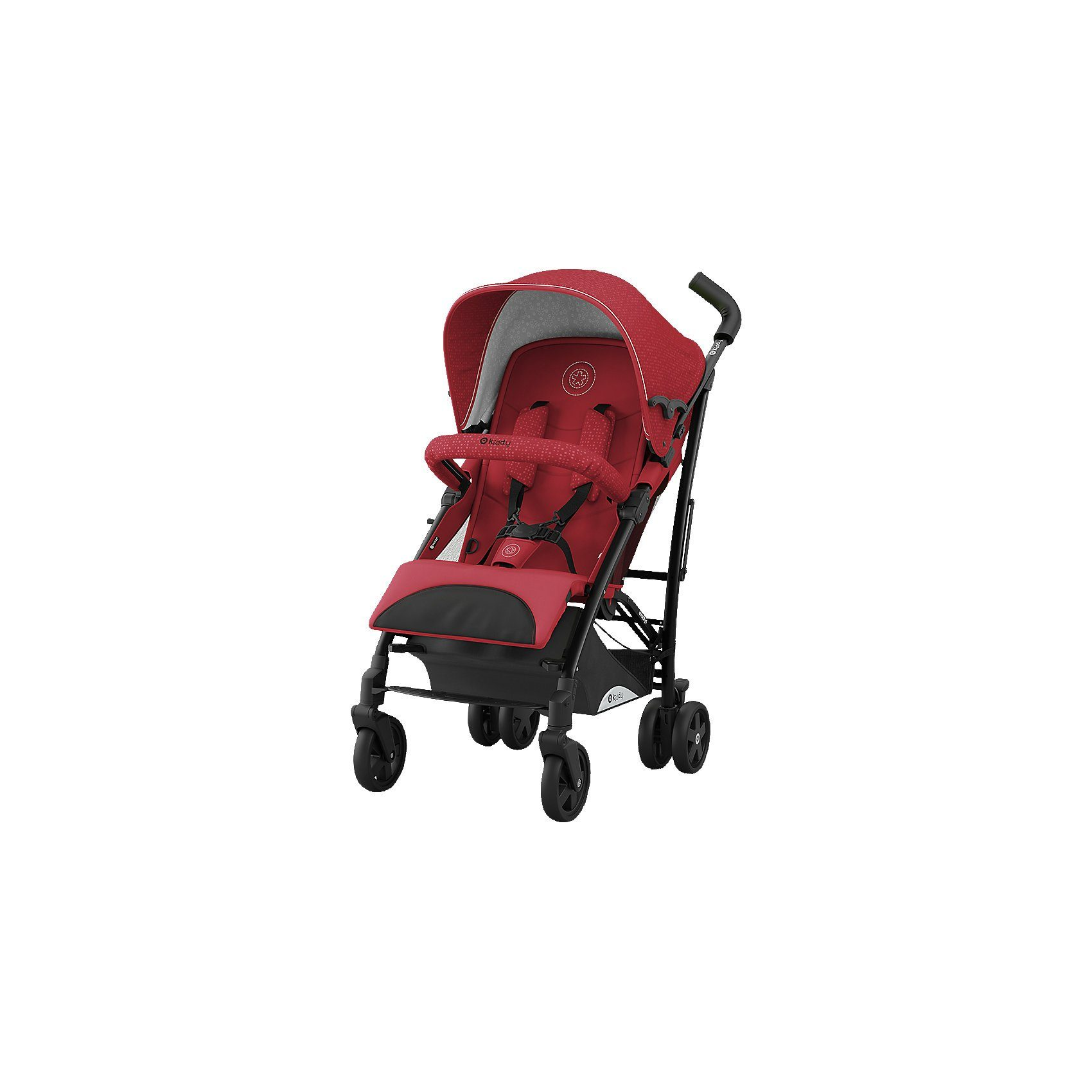 kiddy Buggy Evocity 1, ruby red, 2018