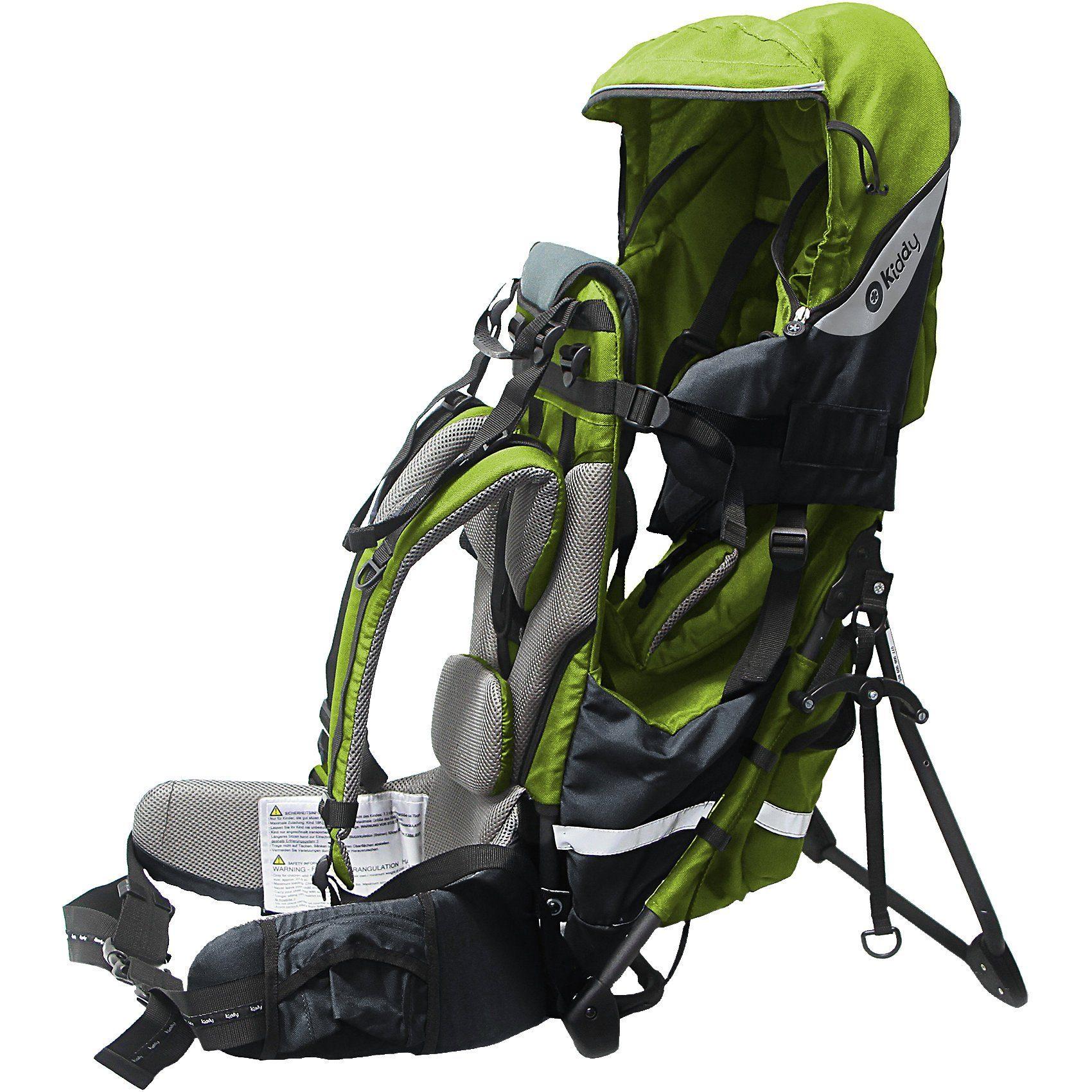 kiddy Rückentrage Adventure Pack, lime green, 2017