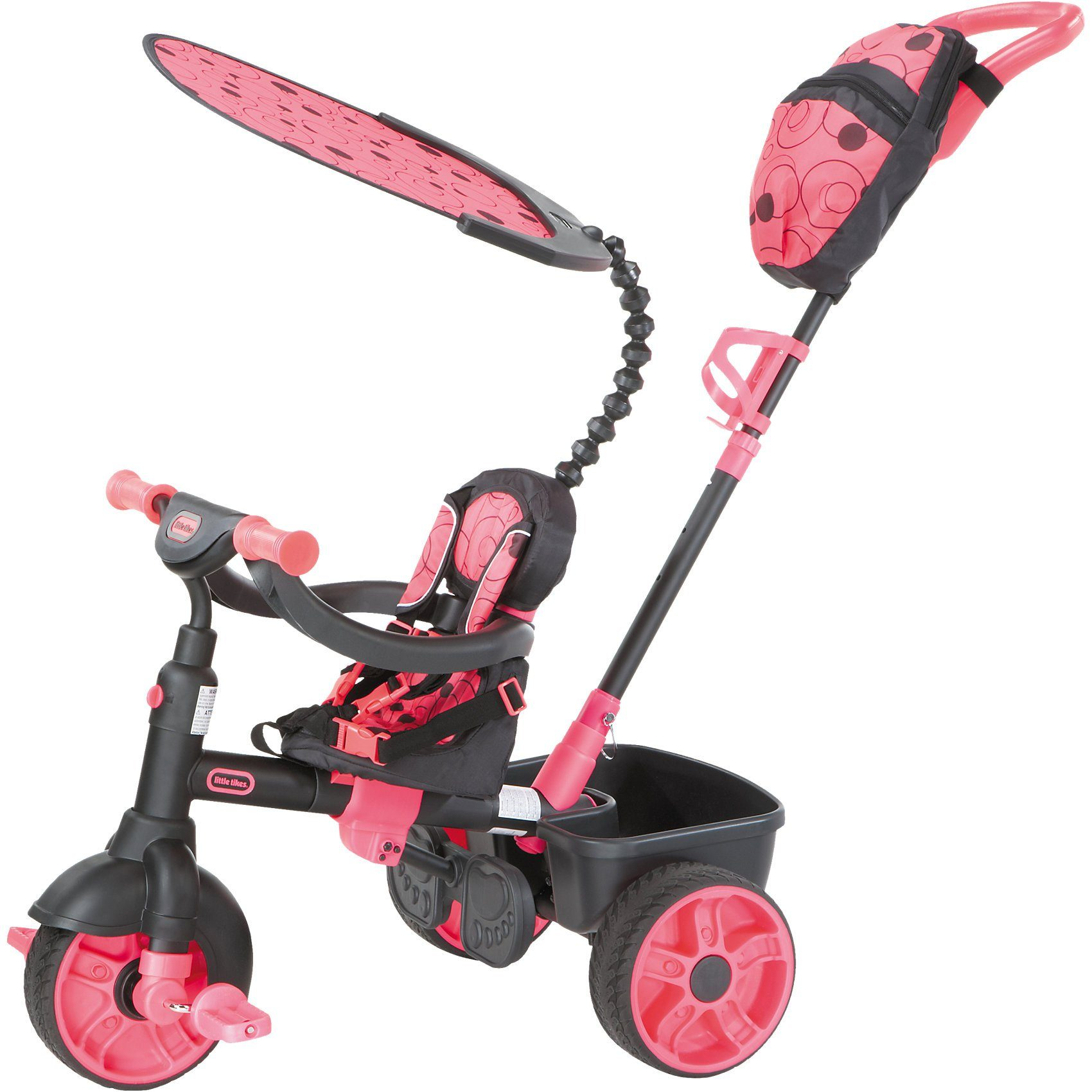 Little Tikes Dreirad 4-in-1 Deluxe Edition , neon pink