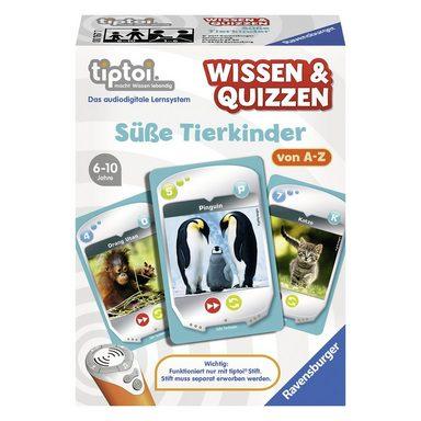 Ravensburger tiptoi® Wissen & Quizzen: SüßeTierkinder (ohne Stift)