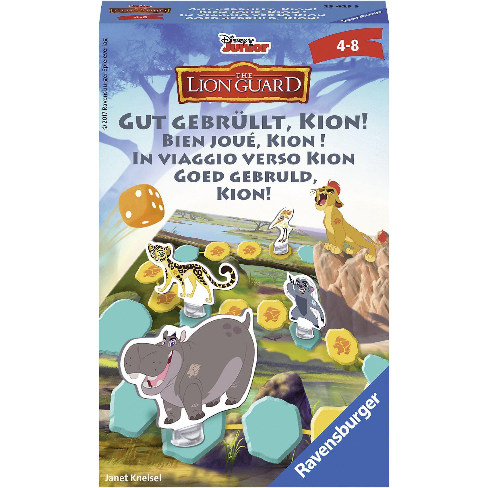 Ravensburger Mitbringspiel Disney Die Garde der Löwen: Gut gebrüllt, Kion