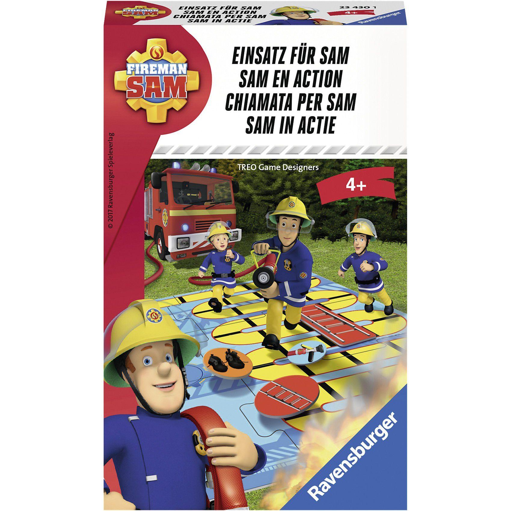 Ravensburger Mitbringspiel Feuerwehrmann Sam: Einsatz für Sam