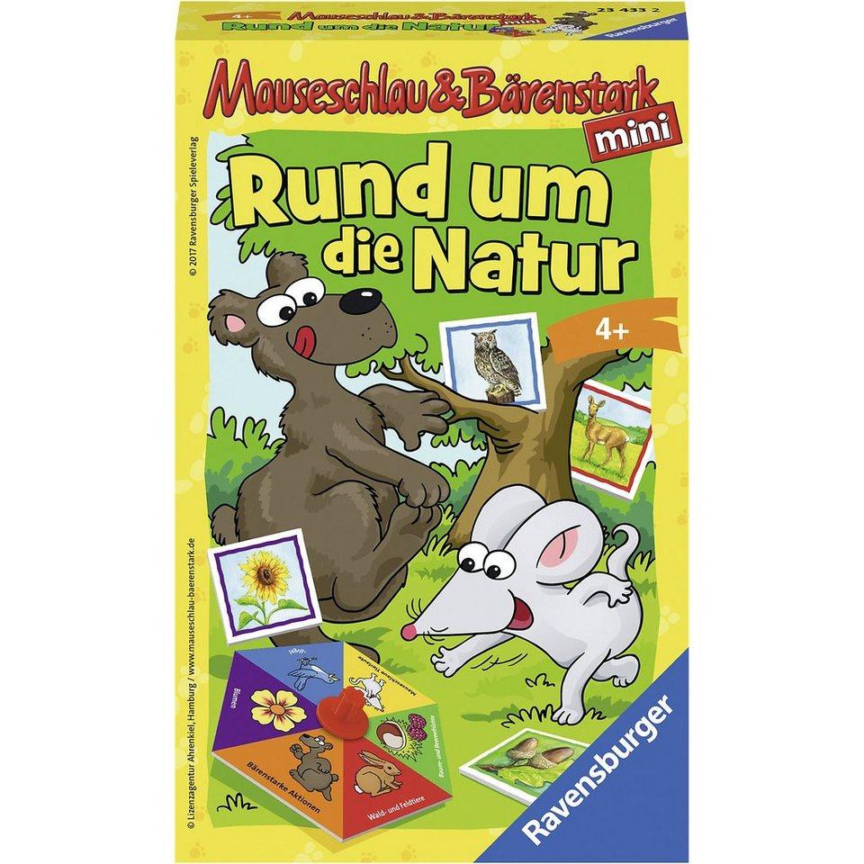 Ravensburger Mitbringspiel Mauseschlau und Bärenstark - Rund um die Natur online kaufen