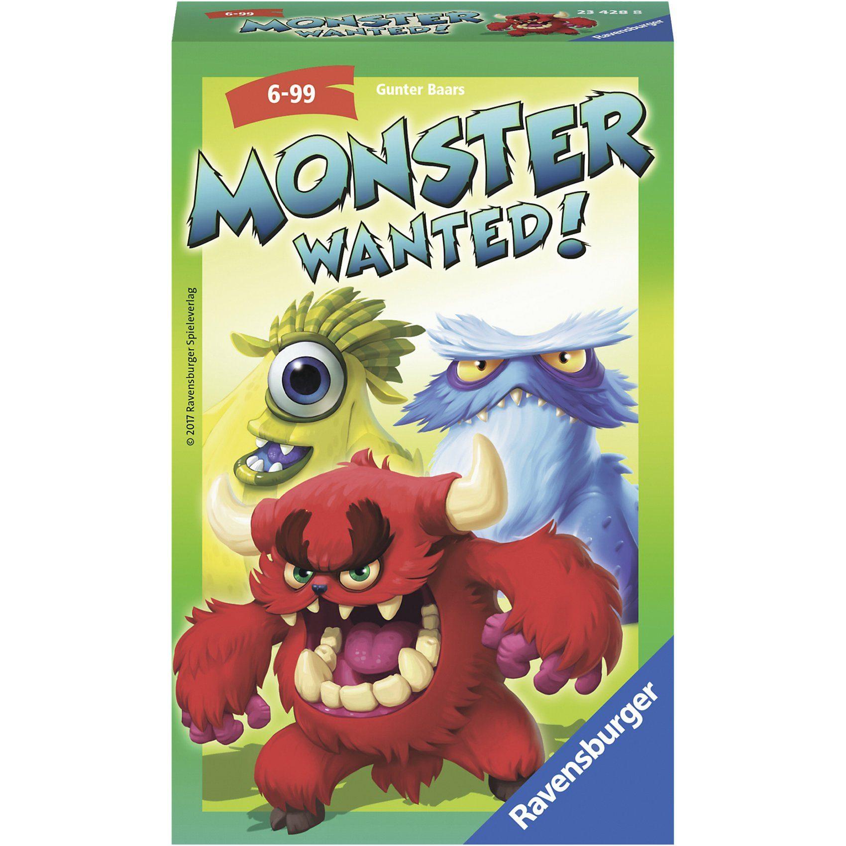 Ravensburger Mitbringspiel Monster Wanted