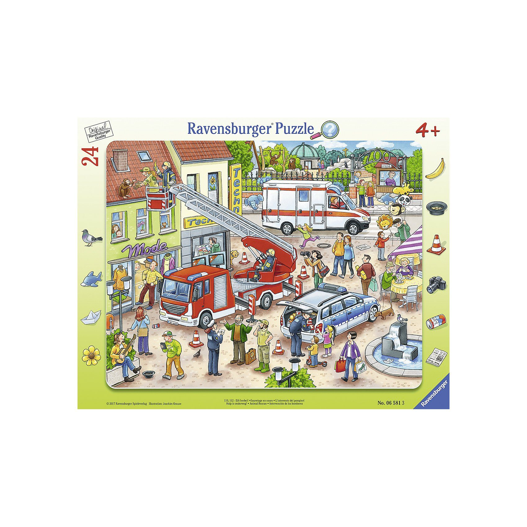 Ravensburger Rahmenteile 24 Teile 110, 112- Eilt herbei!