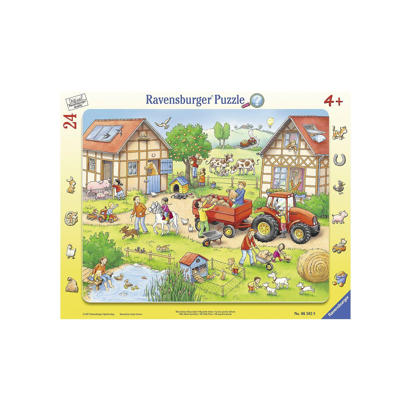 Ravensburger Puzzle 24 Teile Mein kleiner Bauernhof