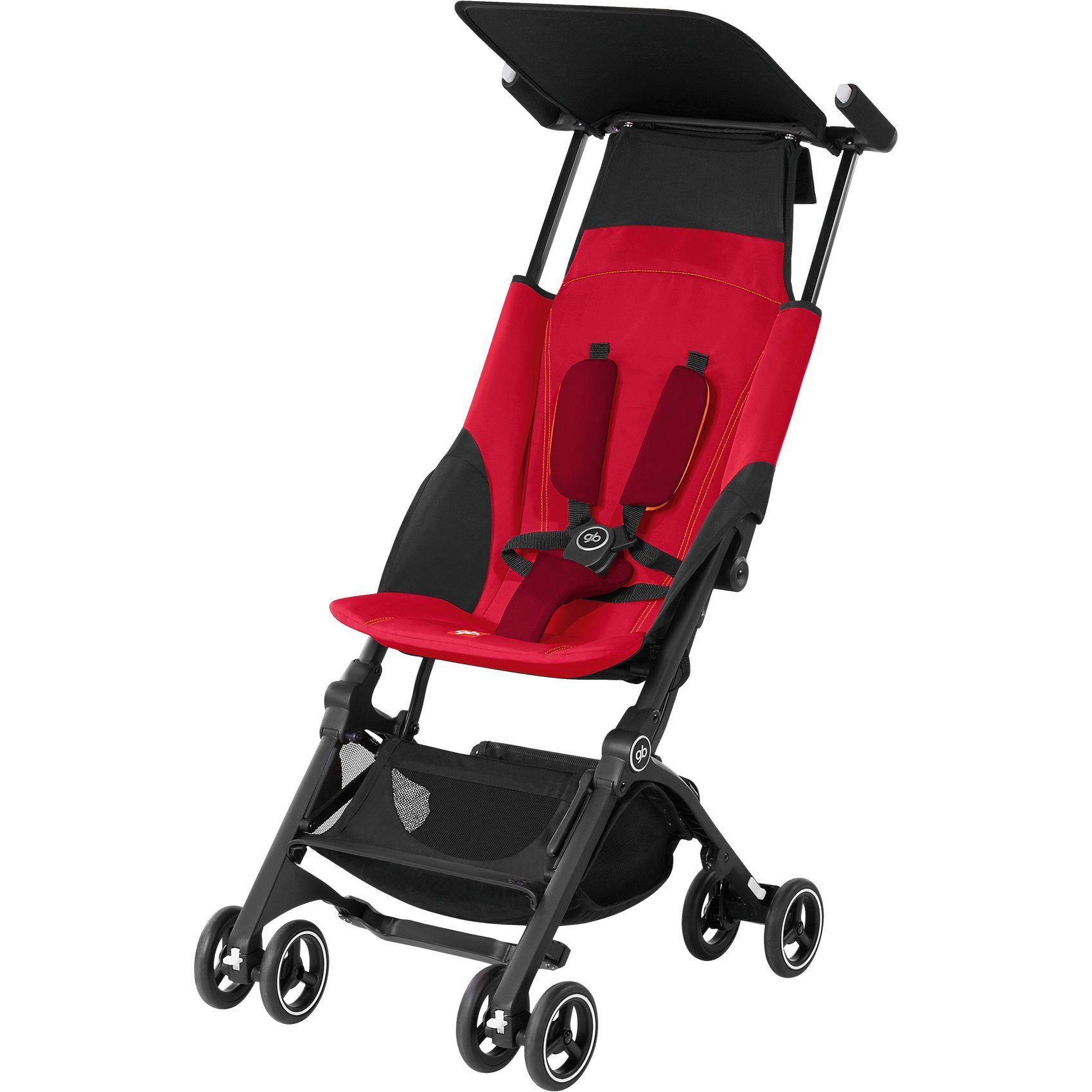 Goodbaby Buggy Pockit+, Dragonfire Red-Red, 2017