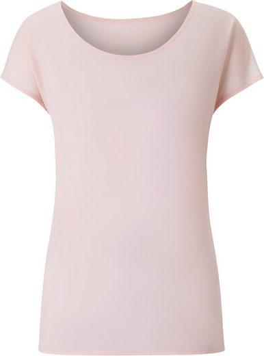 Classic Inspirationen Bluse mit überschnittenen Schultern