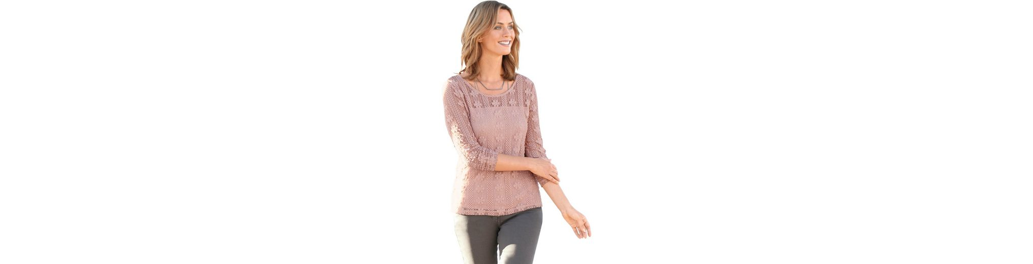 Ambria Shirt femininem Blümchen-Muster Wählen Sie Eine Beste Online Zum Verkauf Finish 9ZkYA5nzFl