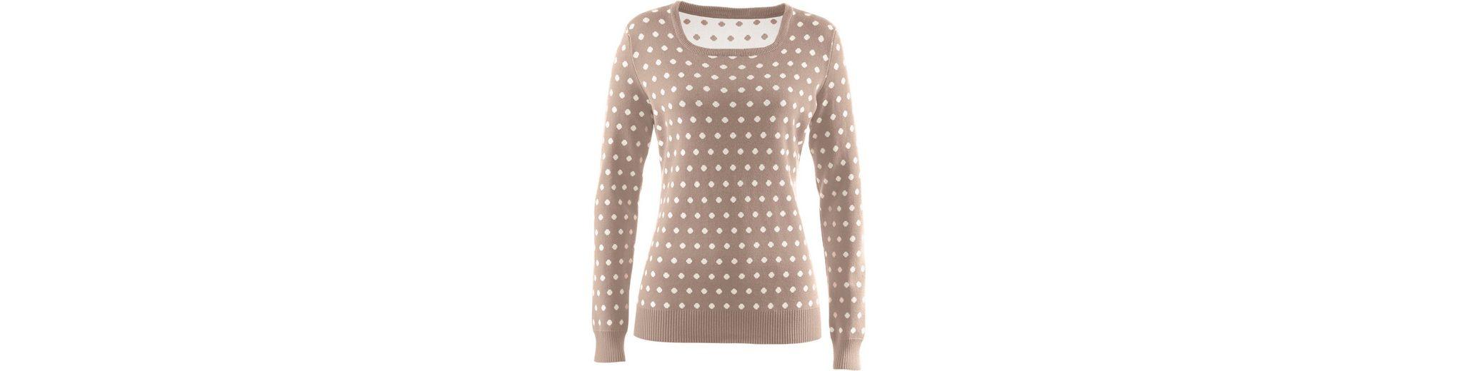 Classic Basics Pullover mit hellen Tupfen Billig Beliebt Größte Anbieter Günstig Online Verkaufsangebote Fabrikverkauf Limited Edition Online JzZ2ZBO0gu