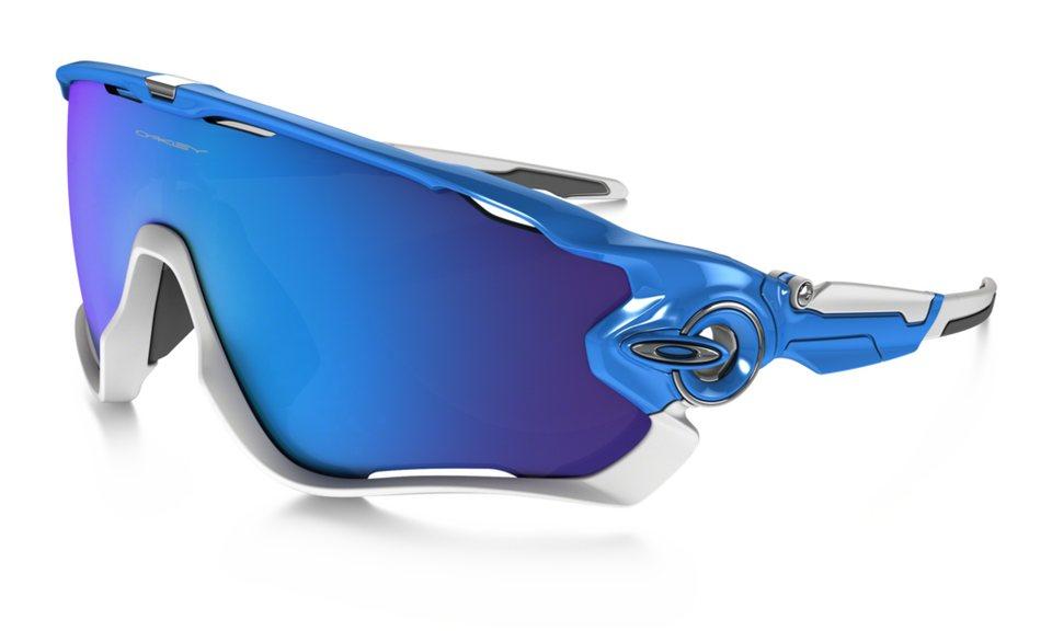 Oakley Radsportbrille »Jawbreaker« in blau