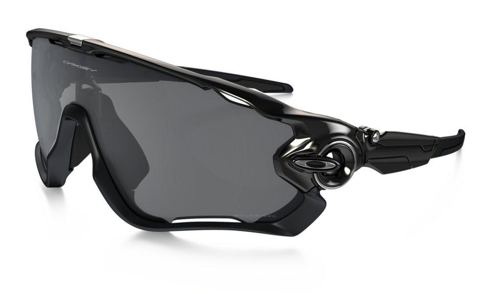Oakley Radsportbrille »Jawbreaker Polarized« in schwarz