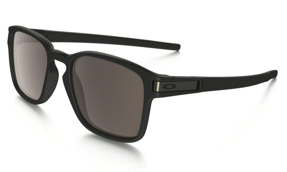 Oakley Radsportbrille »Latch Square« in schwarz