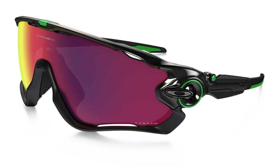 Oakley Radsportbrille »Jawbreaker Cavendish« in schwarz