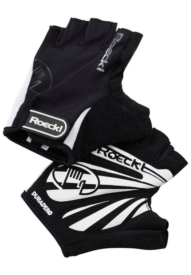 Roeckl Fahrrad Handschuhe »Badia Handschuhe« in schwarz