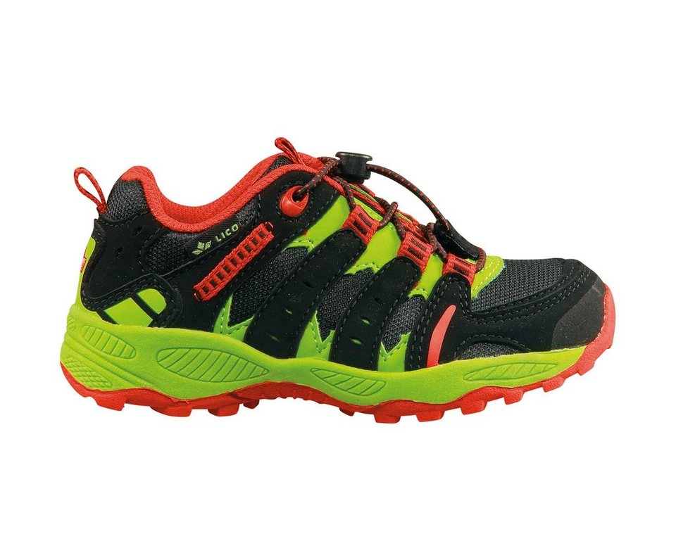 LICO Outdoorschuh »Fremont« in schwarz/rot/lemon