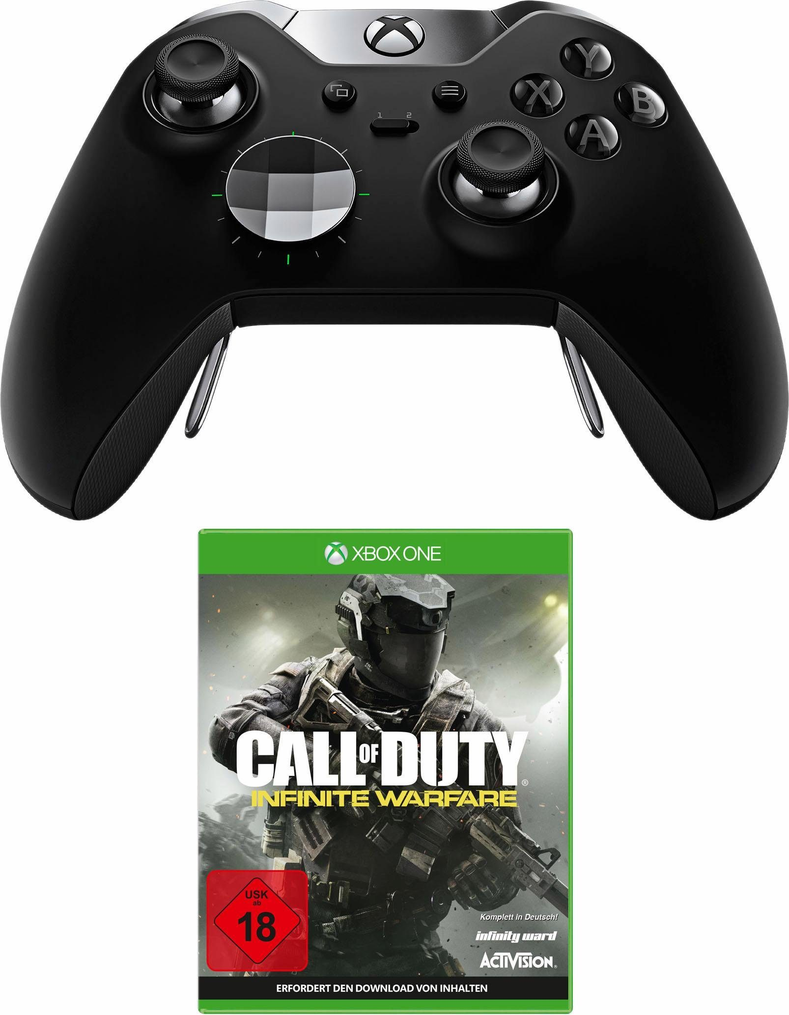 Xbox One Elite Controller + Call of Duty Infinite Warfare