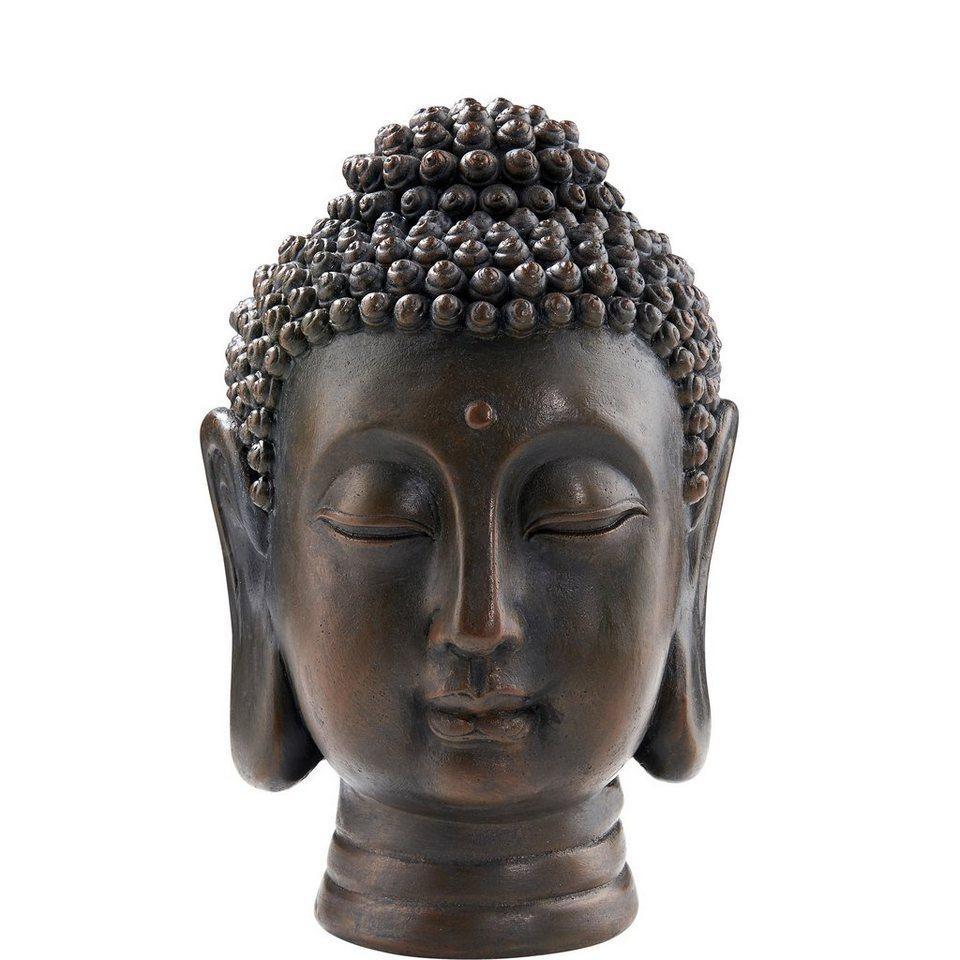 BUTLERS BUDDHA »Buddha Kopf« in braun