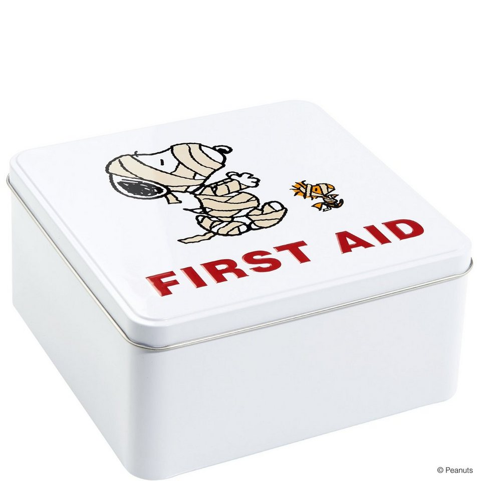 BUTLERS PEANUTS »Dose First Aid Mumie« in weiss