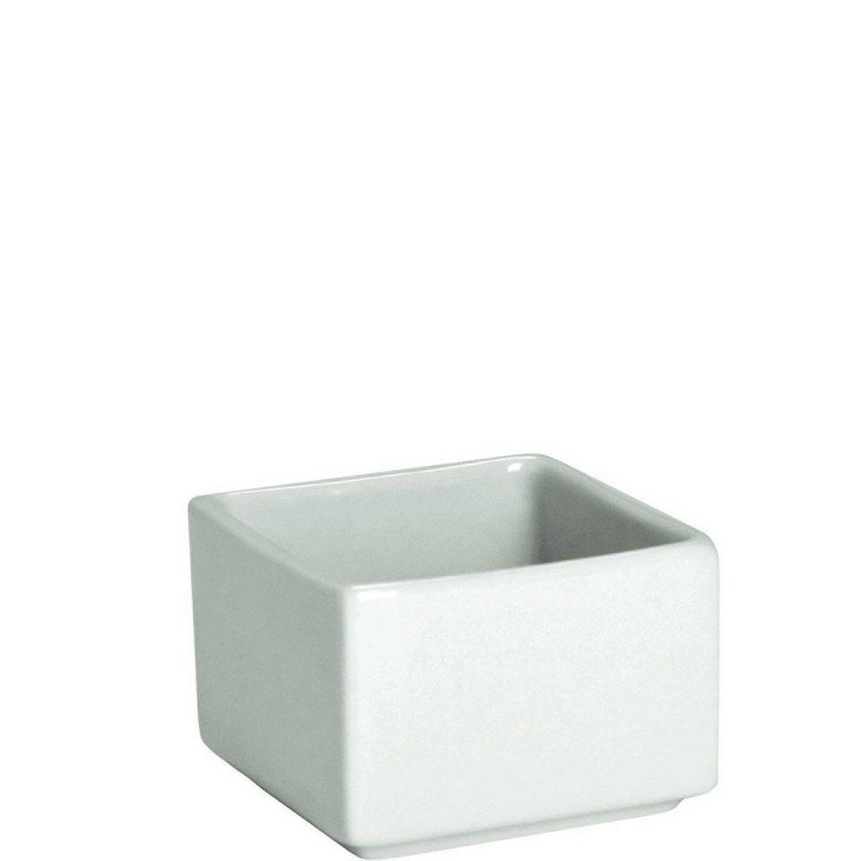 BUTLERS PURO »Dipschale rechteckig« in Weiß