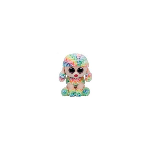 Ty® Beanie Boo Pudel Rainbow multicolor, 24cm