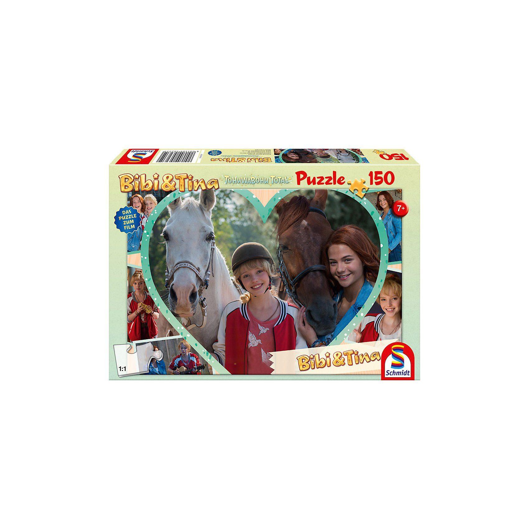 Schmidt Spiele Puzzle Bibi & Tina zum Kinofilm Tohuwabohu Total, Mädchenfre