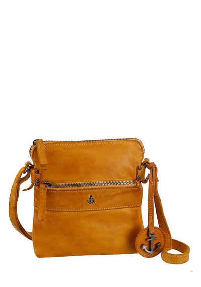 HARBOUR 2nd Umhängetasche »Taliza«, aus Leder mit typischen Marken-Anker-Label und Schmuckanhänger