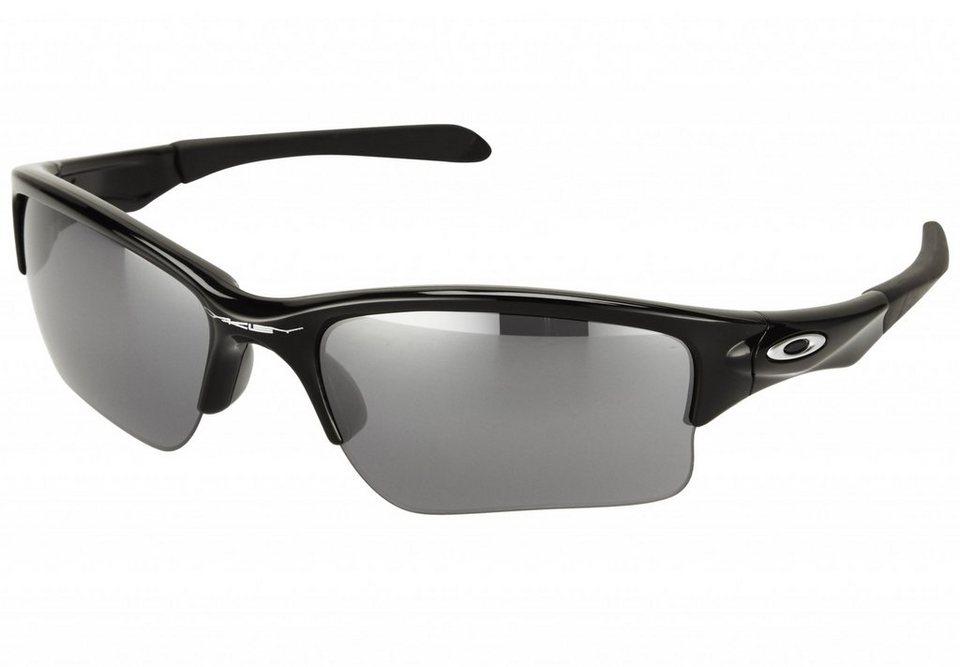 Oakley Radsportbrille »Quarter Jacket« in schwarz