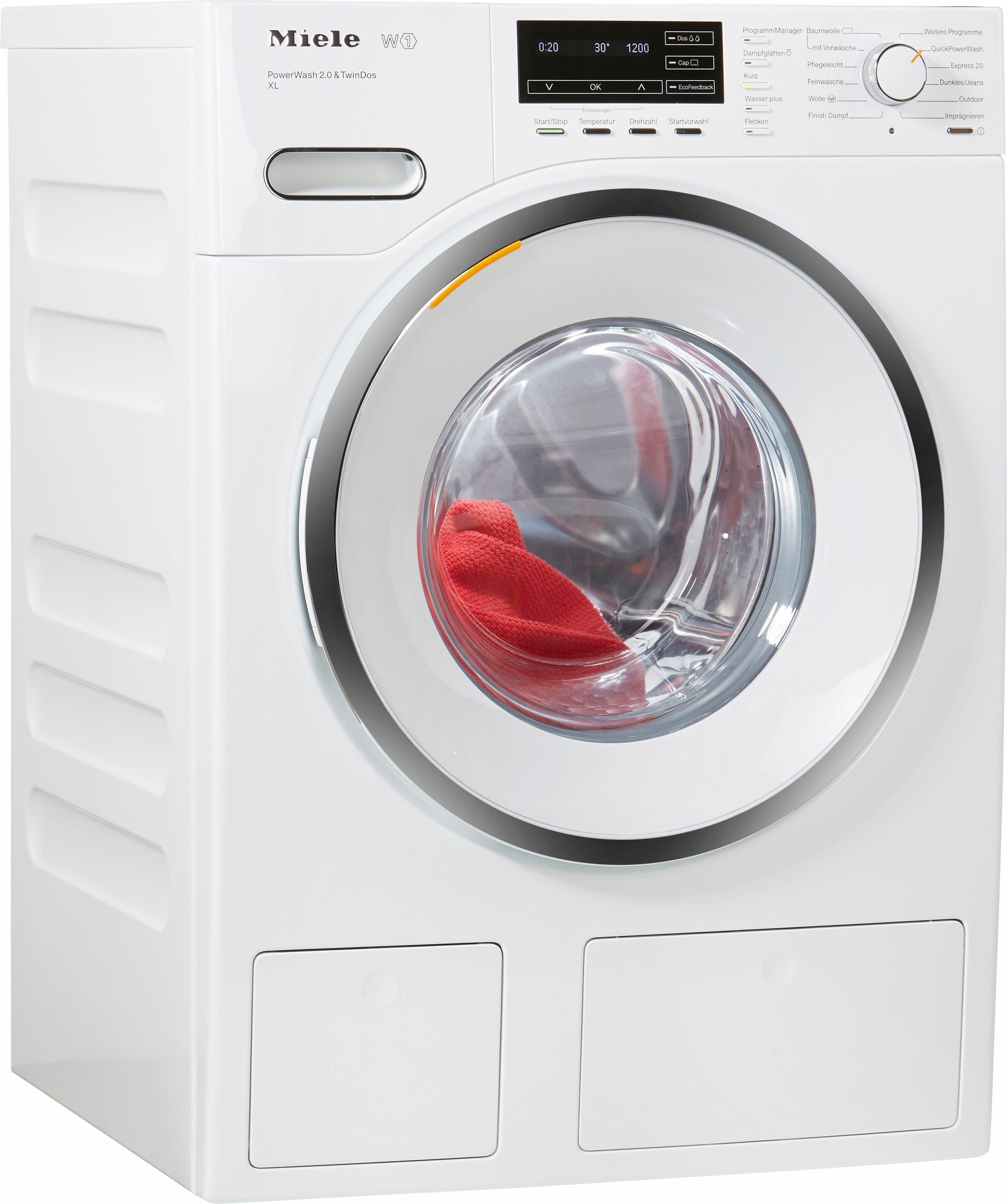 MIELE Waschmaschine WMH262WPS PWash2.0&TDos XL D, A+++, 9 kg, 1600 U/Min