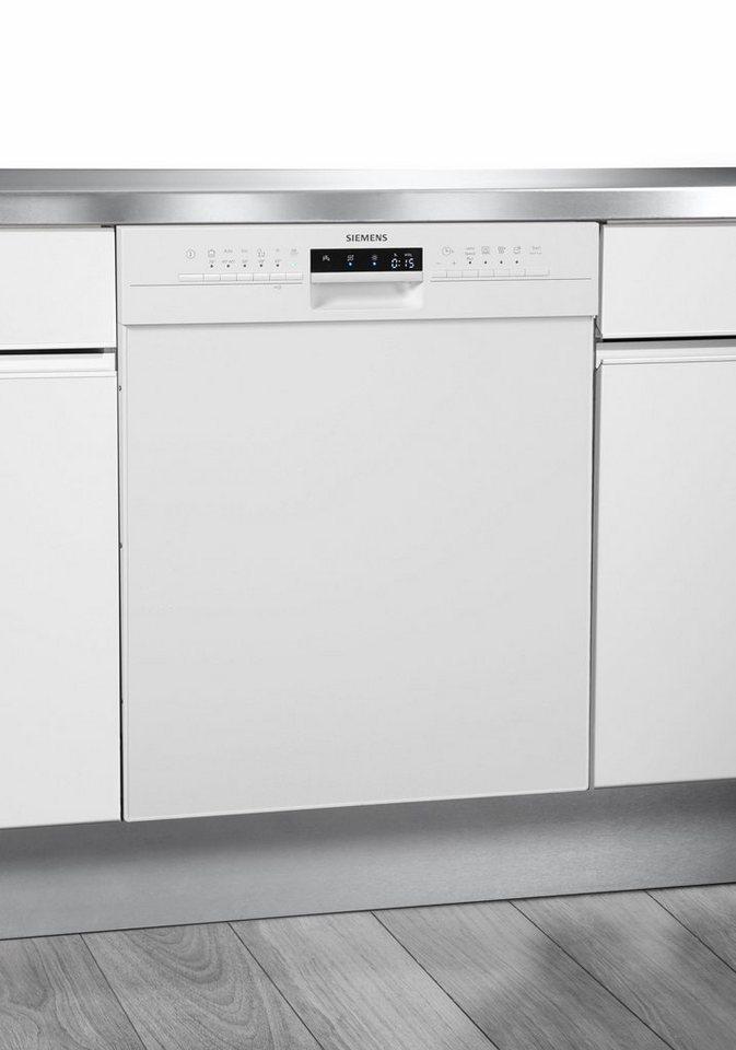 SIEMENS Unterbaugeschirrspüler SN336W03IE, A++, 9,5 Liter, 13 Maßgedecke in weiß