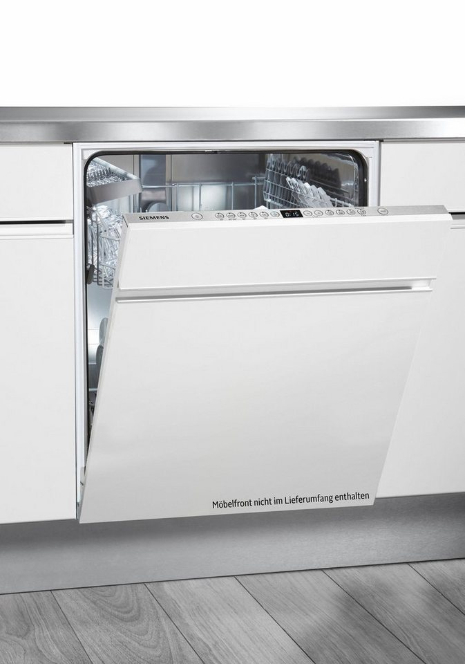 SIEMENS Vollintegrierbarer Einbaugeschirrspüler SX636X03IE, A++, 9,5 Liter, 13 Maßgedecke