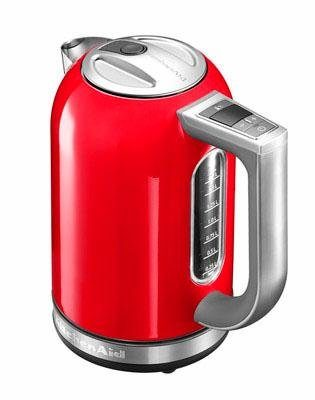 KitchenAid Wasserkocher 5KEK1722EER, 1,7 Liter, 2400 Watt, empire rot