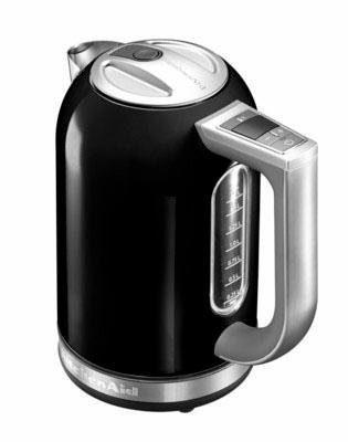 KitchenAid Wasserkocher 5KEK1722EOB, 1,7 Liter, 2400 Watt, schwarz