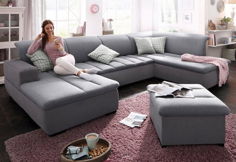 xxl sofa mit bettfunktion. Black Bedroom Furniture Sets. Home Design Ideas